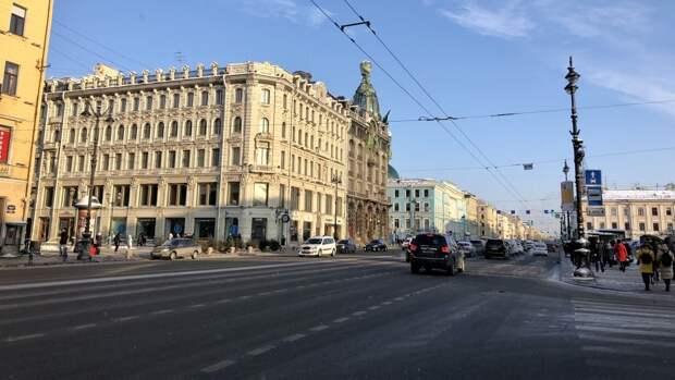 Скандинавский циклон принес в Петербург сухую и солнечную погоду