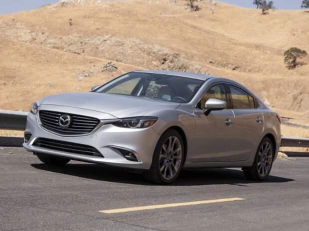 Обновленный седан Mazda6 получил российский ценник