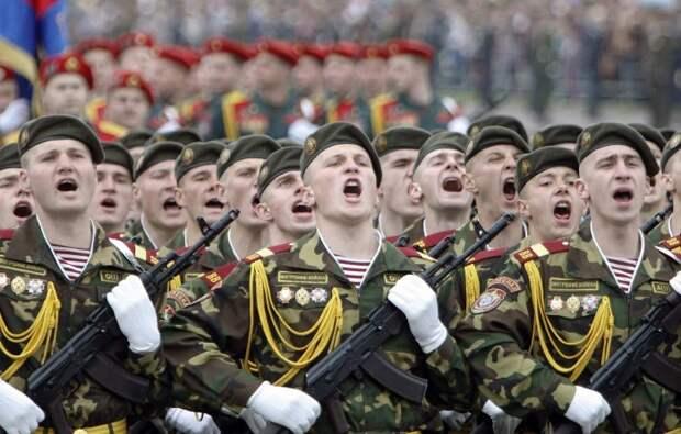 Без «Ура!» сегодня не обходятся торжественные военные мероприятия. /Фото: st.komkur.info