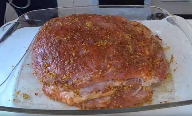 Пьяная свинина - вкусно, просто, по-мужски Мясо, В духовке, Быстро, Вкусно, Коньяк, Длиннопост, Видео, Кулинария