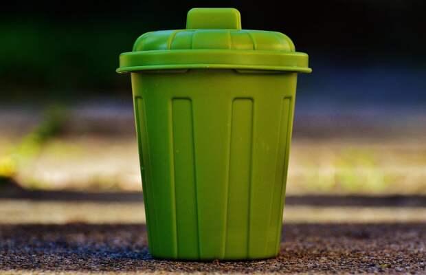На Новокуркинском шоссе дворники не успевают убирать мусор за жителями