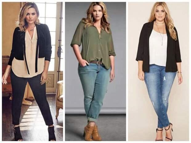 Гид по выбору одежды для полных девушек и женщин