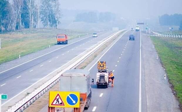 В Кузбассе новую разметку нанесут на 5 000 км дорог
