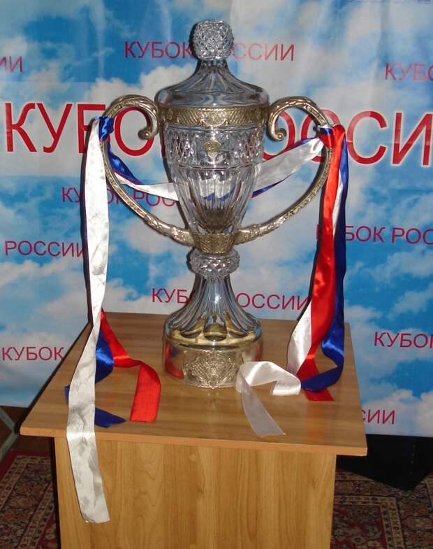Трофей Кубка России по футболу с 2010 года. Источник: wikimedia.org