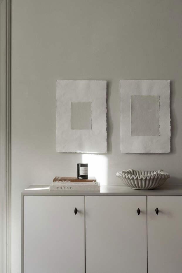 Мягкость и элегантность приглушенного интерьера декоратора в Стокгольме