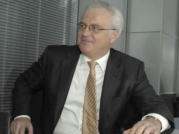 Чуркин в ООН подшутил над украинским коллегой, говорящим по-английски