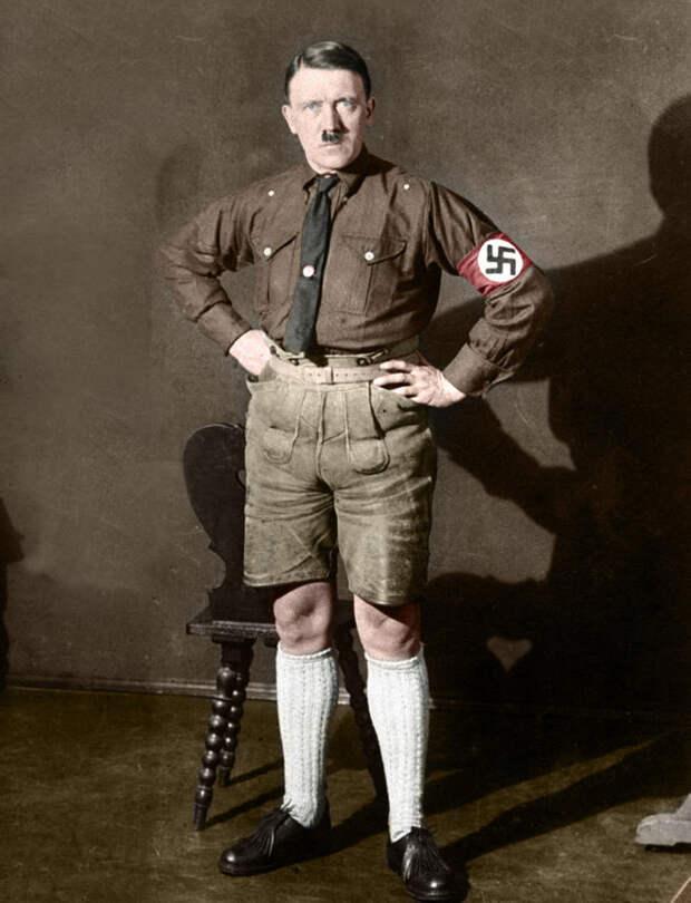 Малоизвестный немец в шортах