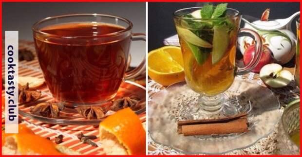 Согревающий чай: ТОП-7 рецептов для осени