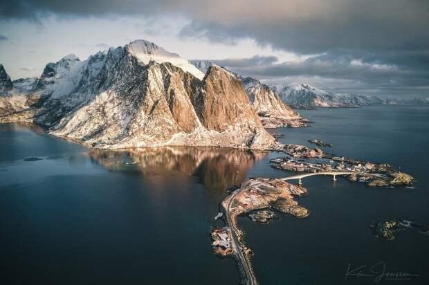 Норвежские пейзажи на снимках Кима Дженссена