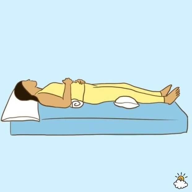 9 здоровых поз для сна, которые избавят вас от боли и недугов!