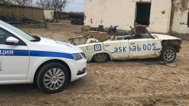 ГИБДД изъяла «машину-зомби» у сельского дрифтера из Ставрополья