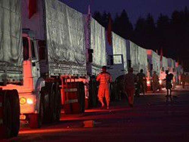 Новость на Newsland: Красный крест может осмотреть гуманитарный груз из РФ в пятницу