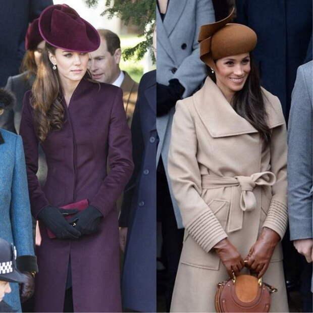 Классические однотонные пальто.