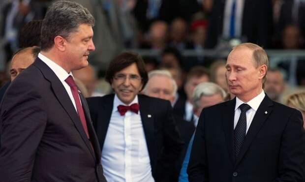 Встреча Порошенко с Путиным завершилась