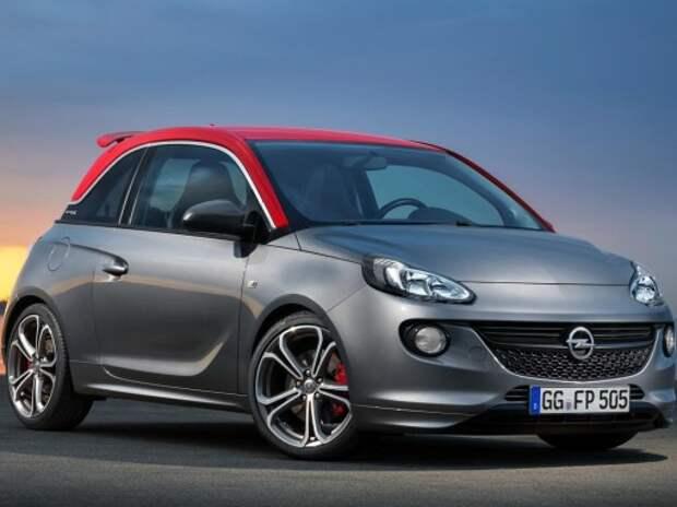 Opel Adam с литерой «S» обрел мощный мотор