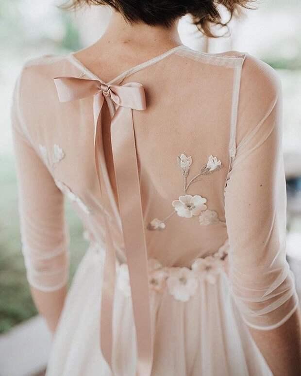Идеи изумительных спинок для платьев 1