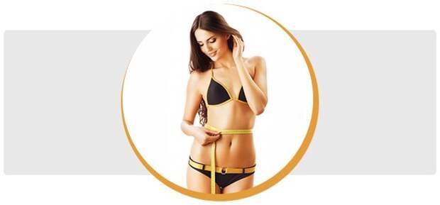 Правильное питание и физическая нагрузка помогут достаточно быстро исправить фигуру