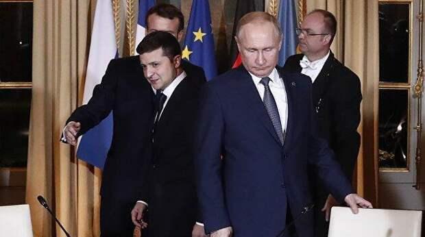 Перспективы новой встречи Зеленского и Путина равны нулю