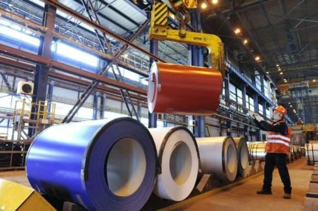 """""""Северсталь"""" в 1 квартале увеличила производство стали на 7%"""