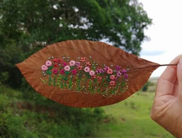 Букеты на гербарии (подборка)