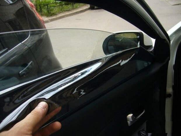 Тонирование стекол автомобиля!