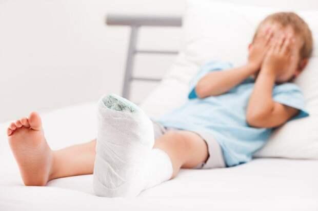 Опасный момент: как помочь ребёнку при травме