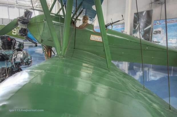 Музей ВВС монино.Зал ВОВ ч.2: По-2(У-2)