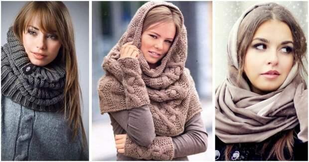 Модная и практичная альтернатива шапке — стильный шарф-капор
