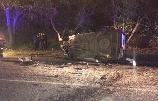 В лобовом столкновении машин под Бахчисараем погибли два человека