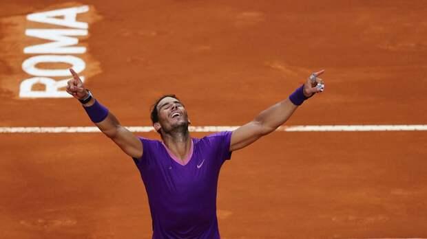 Надаль обыграл Джоковича и в 10-й раз стал победителем «Мастерса» в Риме