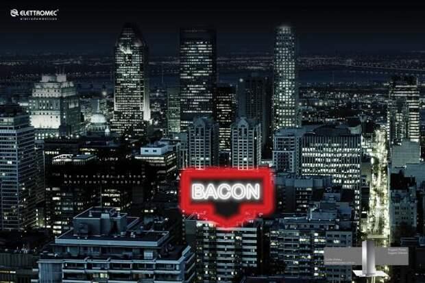Elettromec Eletrodomésticos: Bacon, Elettromec, Bretas, Печатная реклама