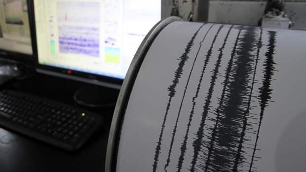 Землетрясение магнитудой 4,0 произошло у берегов Камчатки