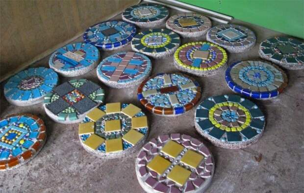 Оригинальное решение для дорожки в саду или украшения лестницы. /Фото: sc01.alicdn.com