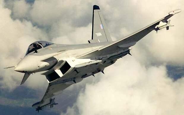 Истребитель EF-2000 Typhoon