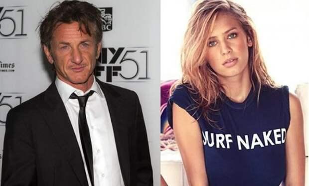 12 место. Шон и Дилан Пенн (Sean Penn, Dylan Penn). дочь, знаменитость, отец