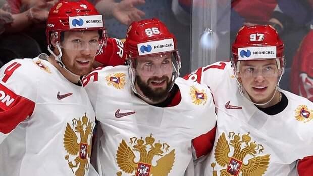 Россия досрочно вышла в плей-офф Чемпионата мира по хоккею