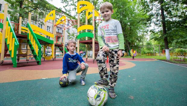 Воробьев напомнил главам территорий о контроле за состоянием детских площадок