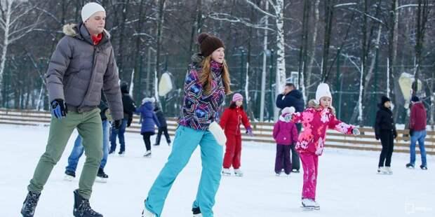 Центр «Орбита» набирает конькобежцев Аэропорта в сборную района