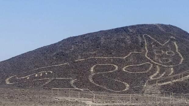 Обнаружен новый 37-метровый геоглиф Наска
