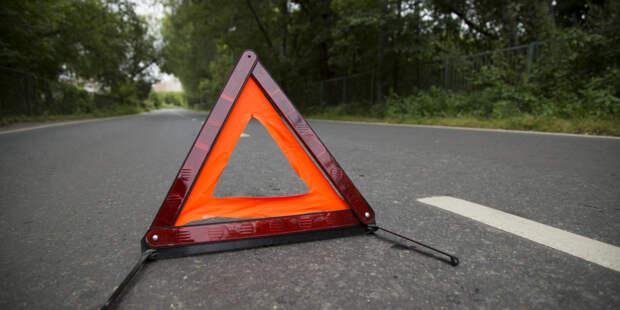 Под Ульяновском столкнулись фура и два грузовика