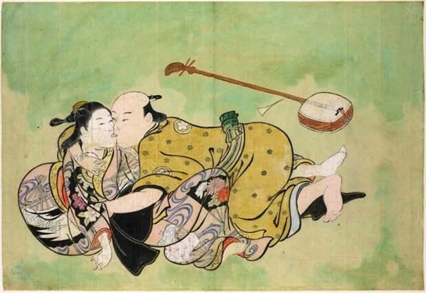 """Живопись """"сюнга"""": как японское эротическое искусство произвело фурор в Лондоне"""