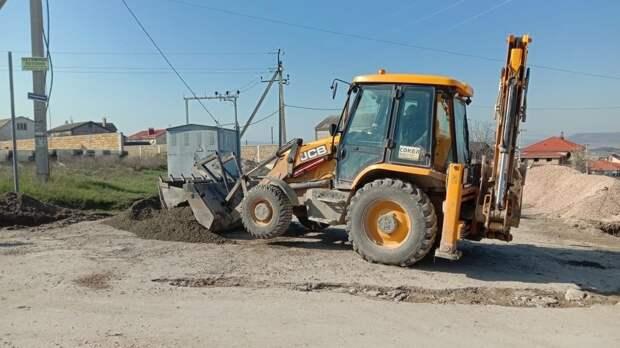 В Бахчисарае отремонтируют 5 дорог до 1 июля