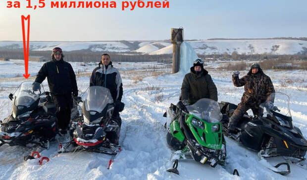 Губернатор Оренбуржья Денис Паслер погонял на снегоходах с главой Федерации бокса РФ