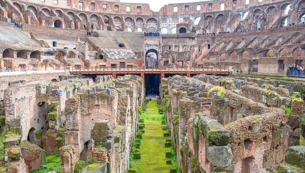В римском Колизее появится пол как во времена гладиаторов
