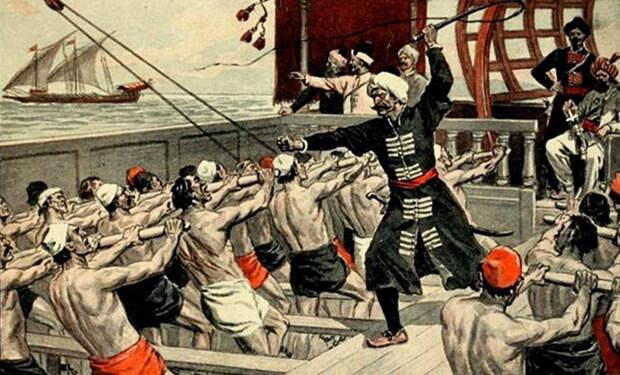 Восстание Мошкина: как русские рабы захватили у турок галеру и что из этого вышло