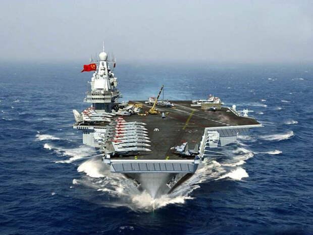Боевой флот Китая подошел к берегам США