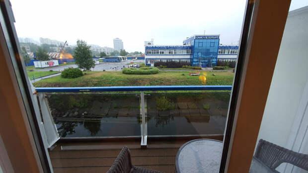"Балкон на теплоходе ""Мстислав Ростропович"""