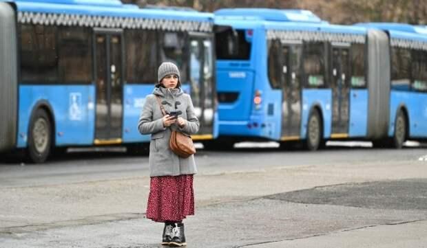 Короткие рейсы автобусов м6к с 19 апреля будут курсировать от Серебряного бора до «Краснопресненской»