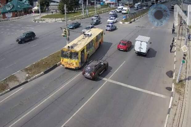 Движение на нескольких перекрестках в Тамбове реорганизуют