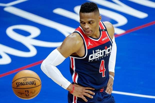 Трипл-дабл Уэстбрука помог «Вашингтону» одержать первую победу над «Филадельфией» в серии плей-офф НБА
